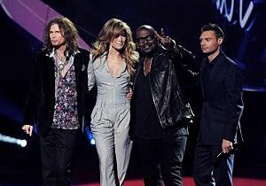 "The ""American Idol"" Season 10 Judges' Panel"