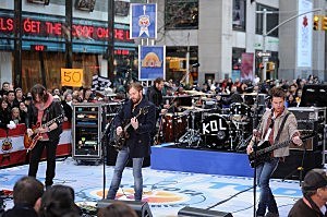"Kings Of Leon Perform On NBC's ""Today"" - November 24, 2010"