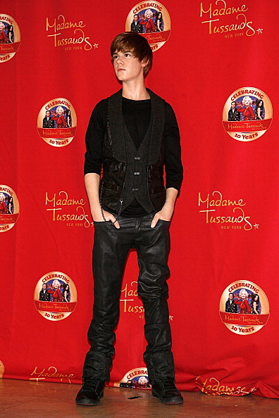 Justin Bieber Wax Figure Unveiling At Madame Tussauds New York