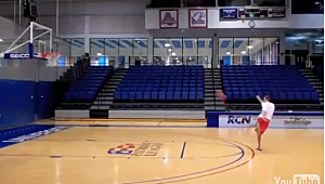 American University B-Ballers Make the Best Trickshot Video Yet [VIDEO]