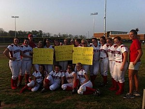 Haughton High School Softball Team 2011