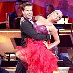 Louis van Amstel and Kendra Wilkinson-Baskett