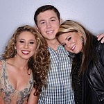 Haley Reinhart, Scotty McCreery and Lauren Alaina