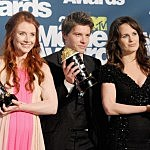 Bryce Dallas Howard, Xavier Samuel, and Elizabeth Reaser