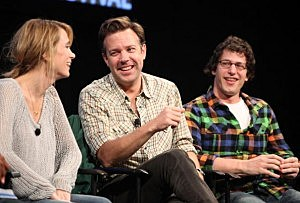 Kristen Wiig, Jason Sudeikis and Andy Samberg
