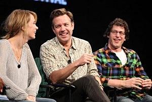 Kristen Wiig, Jason Sudeikis and Andy Samberg