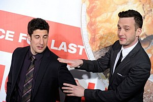 Jason Biggs and Eddie Kaye Thomas