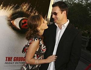 Sarah Michelle Gellar and Freddie Prinze, Jr.