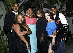 Dorien Wilson, Countess Vaughan James, Mo'Nique, Yvette Wilson, Jenna Von Oy and Ken L.