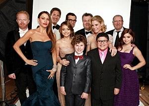 """""""Modern Family"""" cast"""