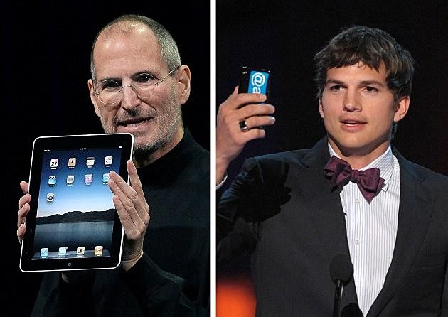 Steve Jobs; Ashton Kutcher