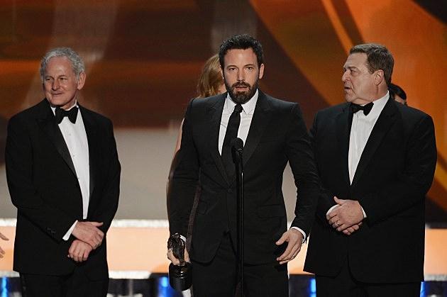 Victor Garber, Ben Affleck and John Goodman