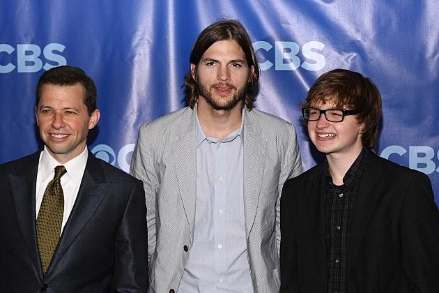 Jon Cryer, Ashton Kutcher and Angus T. Jones