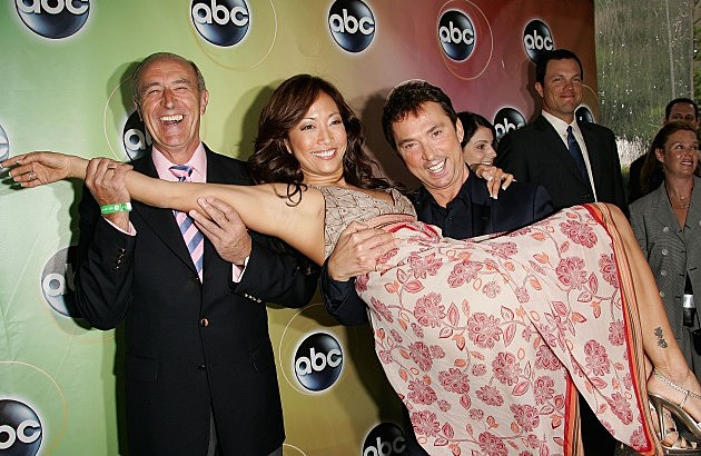 Len Goodman, Carrie Ann Inaba and Bruno Tonioli