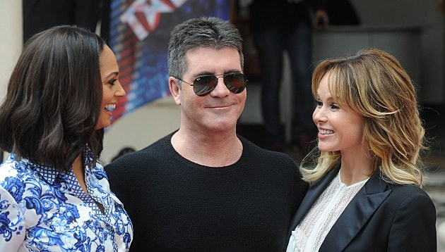 Alesha Dixon, Simon Cowell and Amanda Holden
