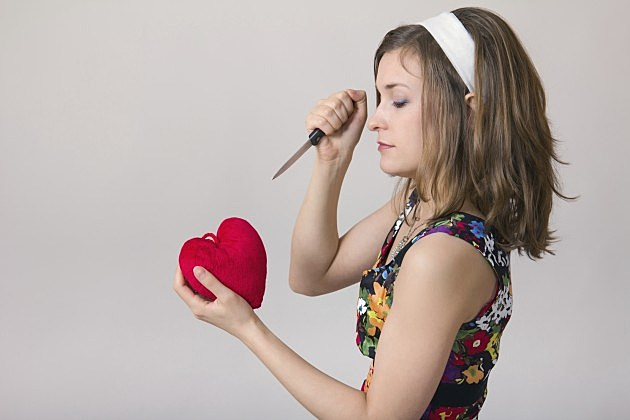 stabbing heart