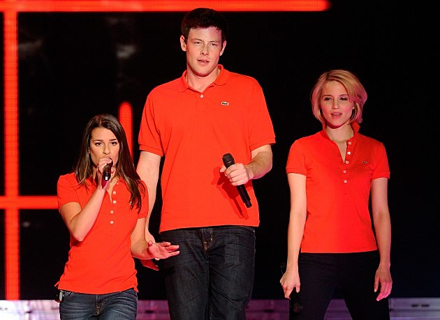 Lea Michele, Cory Monteith and Dianna Agron