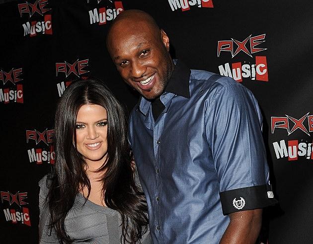 Khloe Kardashian Odom and Lamar Odom