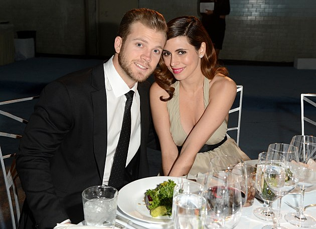 Cutter Dykstra and Jamie-Lynn Sigler