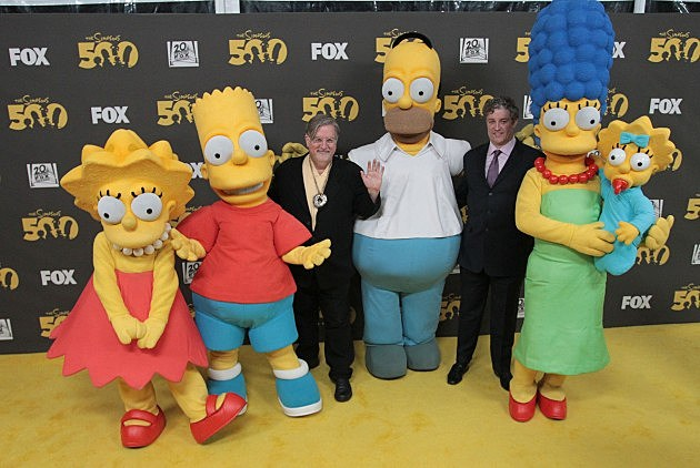 """Simpsons"" cast, Matt Groening, Al Jean"