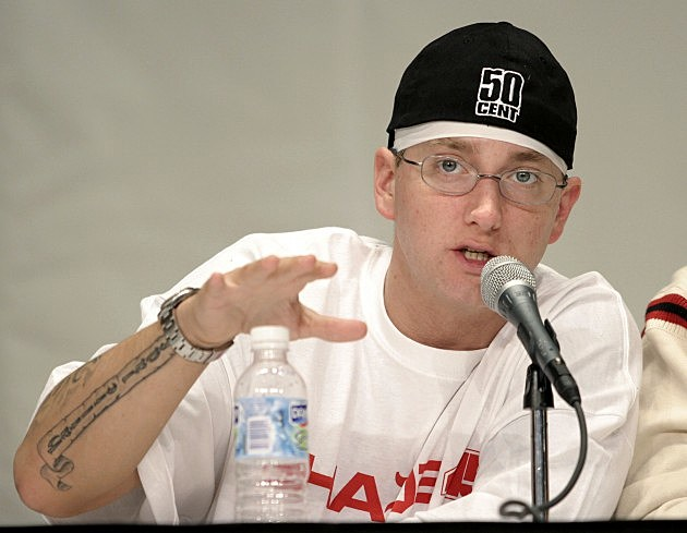 Eminem Releases Track List For 'Marshall Mathers LP 2′