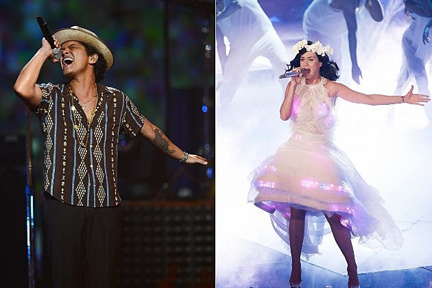 bruno mars katy perry track battle
