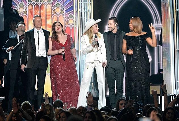 Macklemore, Mary Lambert, Madonna, Ryan Lewis and Queen Latifah
