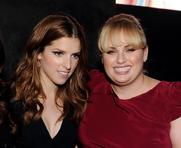 Anna Kendrick and Rebel Wilson