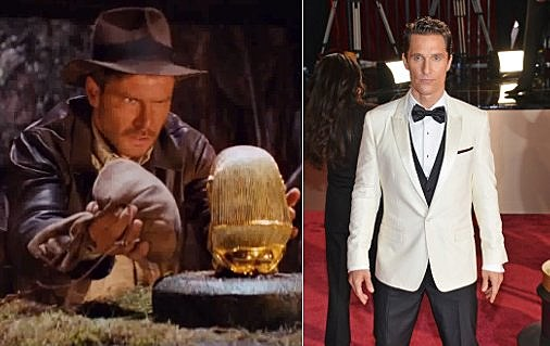 Matthew McConaughey Indiana Jones