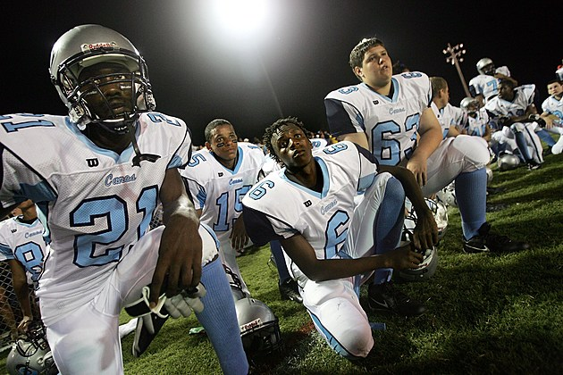 One Year After Katrina, High School Players Return To Gridiron