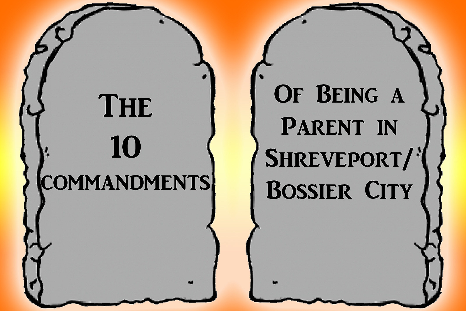 10 commandments image