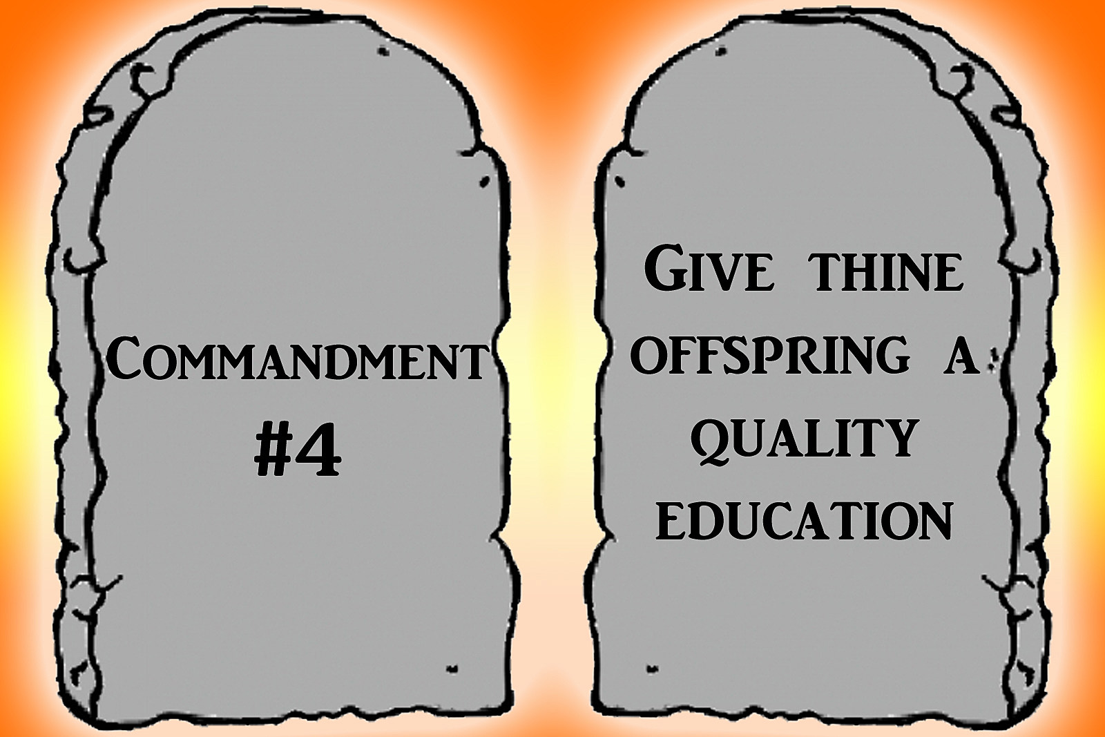 Commandment 4