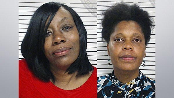 Tracy Gallow and Marie Shelvin St Landry Parish Sheriff's Office