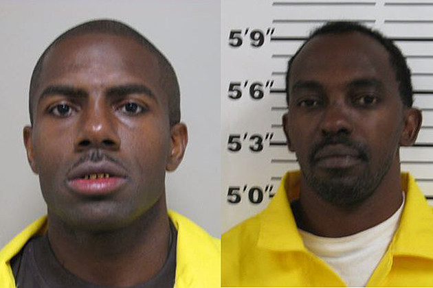 Michael Casson and Tremmell Armstead Grant Parish Sheriff's Office