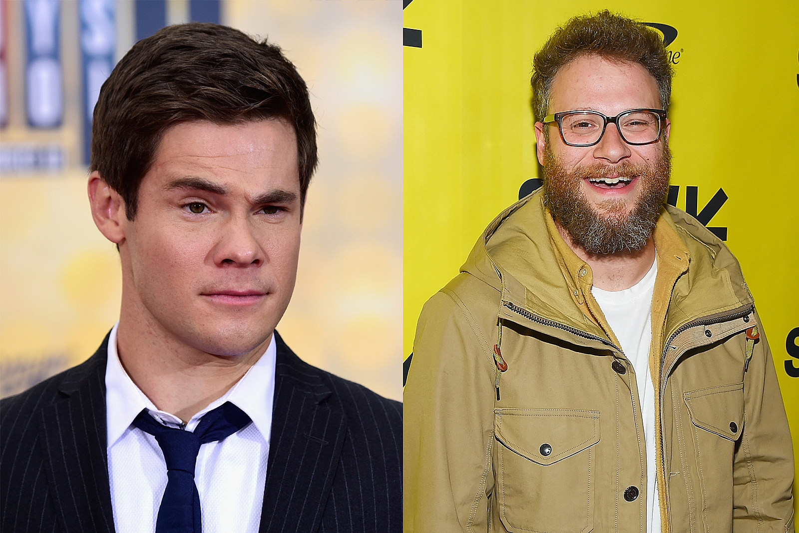 Adam Devine and Seth Rogan
