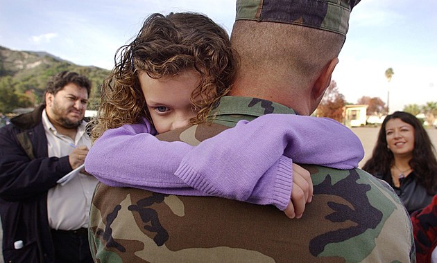 U.S. Marines Return Home From Middle East