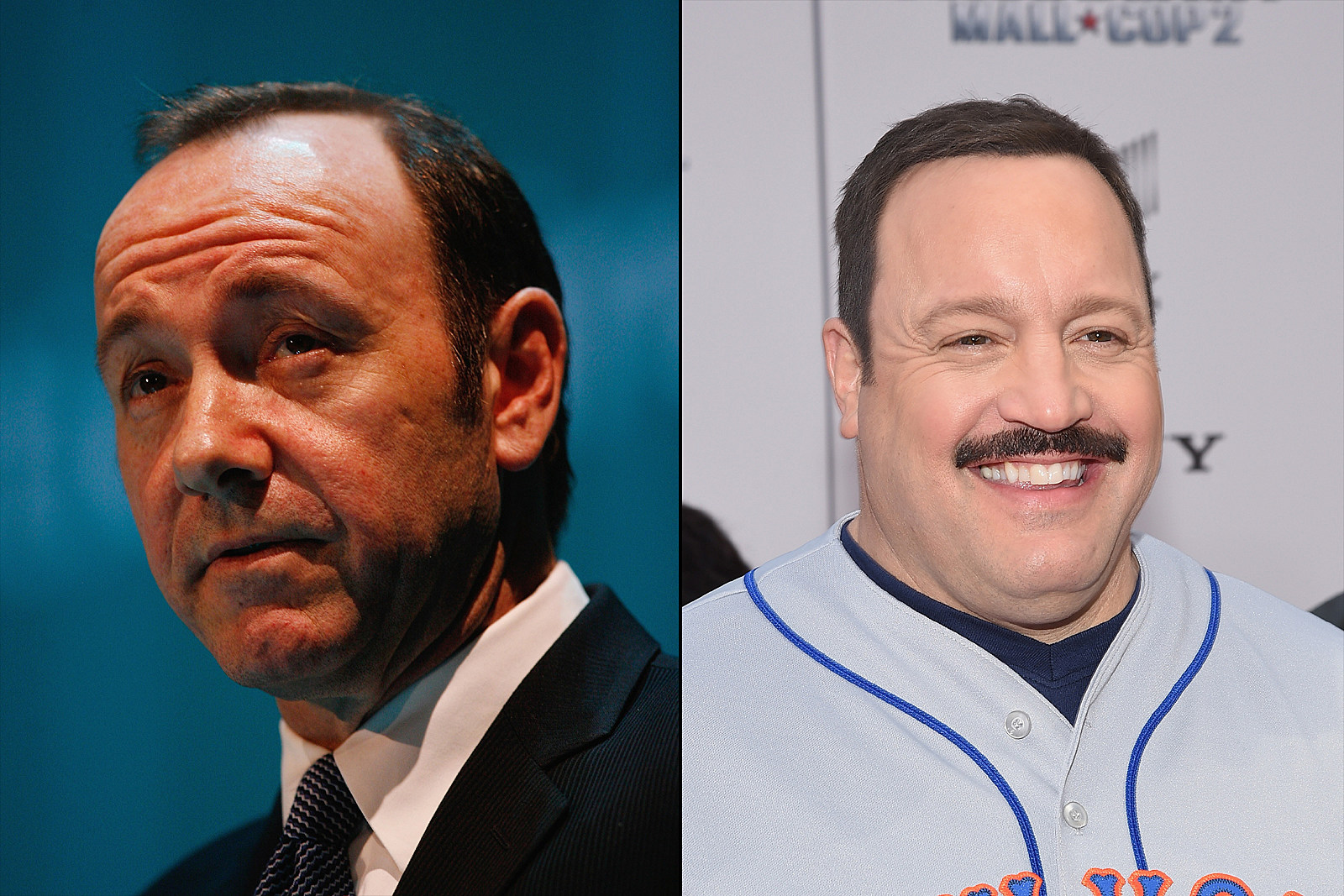 Kevin Spacey Kevin James - Getty Images